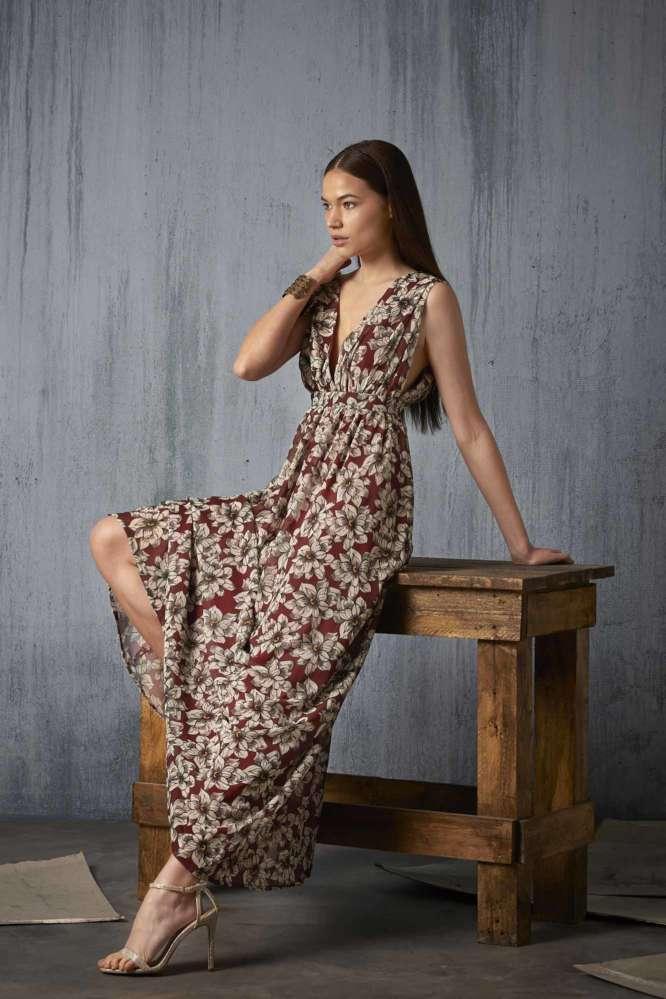 Vestido Lia Marú Atelier