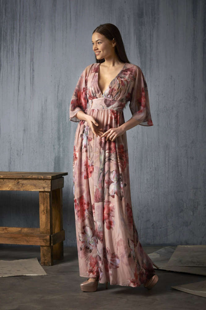 Vestido Toscana Marú Atelier