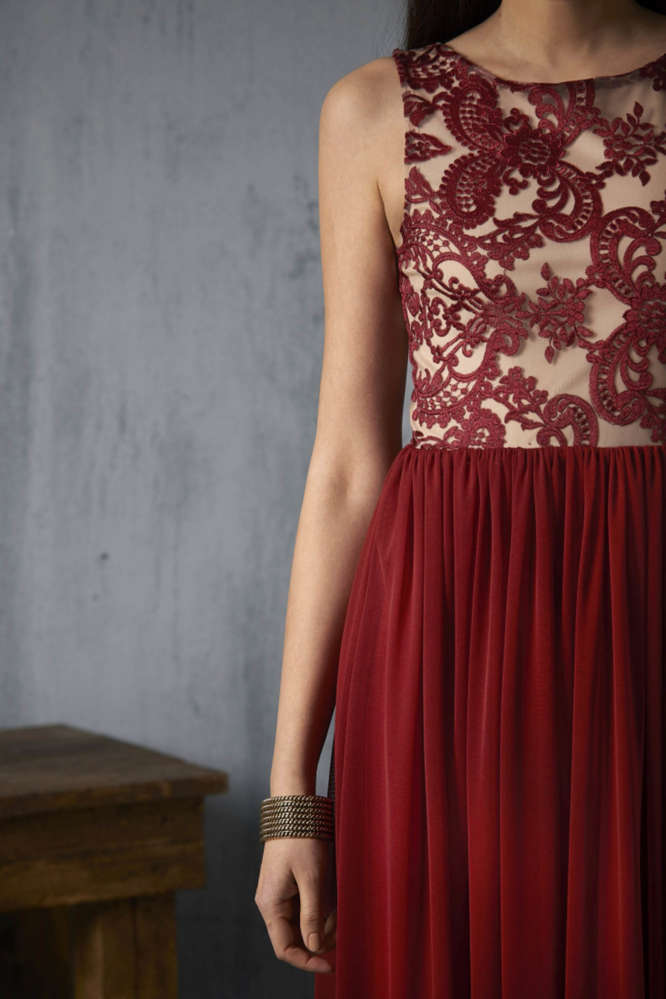 vestido-valentina-granate detalle