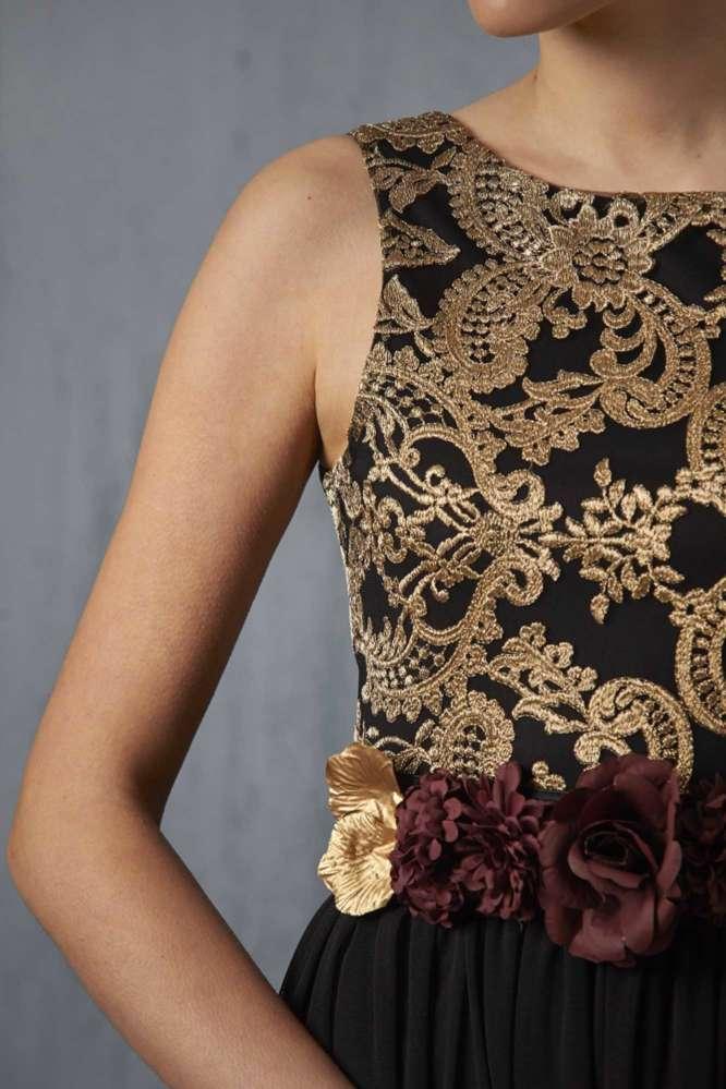 vestido-valentina-negrooro detalle